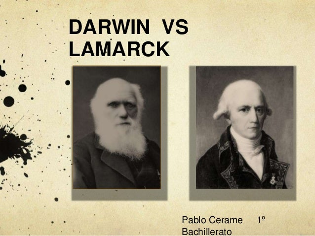 darwin v lamarck Darwin vs lamarck worksheet (f) i created this simplified worksheet to help teach and summarize the main differences between darwins and lamarcks theories of evolution.