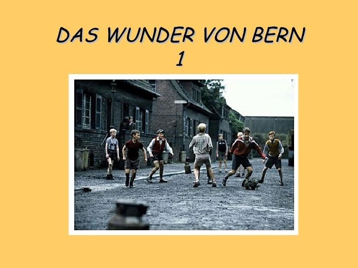DAS WUNDER VON BERN 1