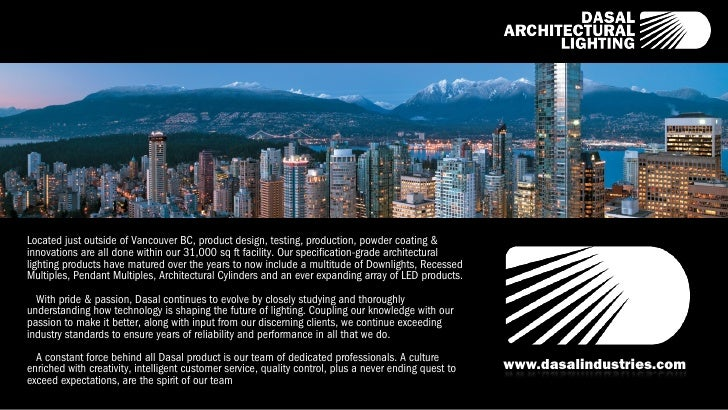 Dasal xicato 2012no animations ipad for Dasal architectural lighting