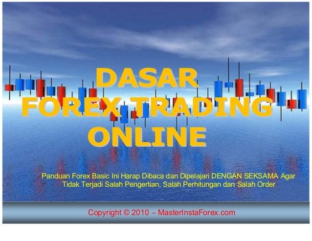Dasar dasar forex trading online
