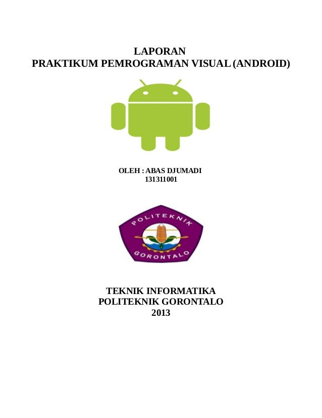 Pemrograman Dasar Android