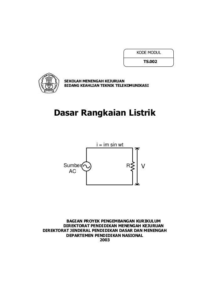 KODE MODUL                                            TS.002        SEKOLAH MENENGAH KEJURUAN        BIDANG KEAHLIAN TEKNI...