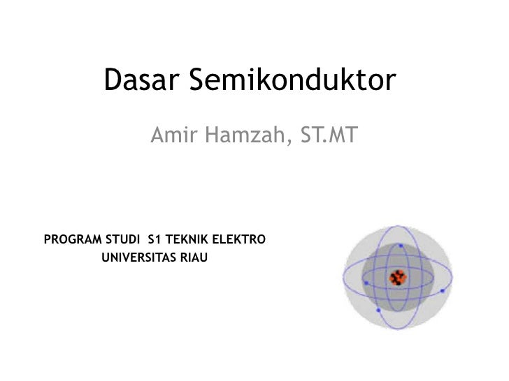Dasar semikonduktor+dioda