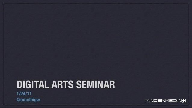 Digital Seminar at La Salle University