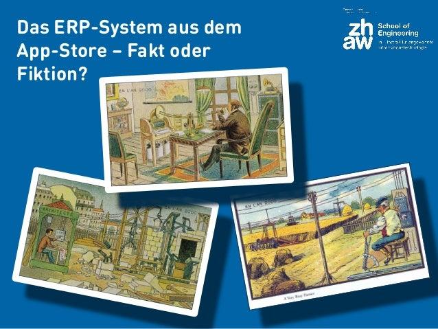 Das ERP-System aus dem App-Store – Fakt oder Fiktion?