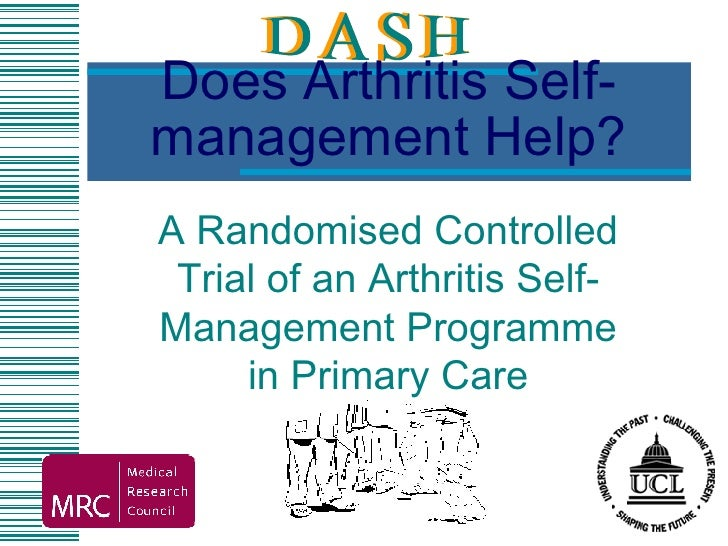 Does Arthritis Self-management Help? A Randomised Controlled Trial of an Arthritis Self-Management Programme in Primary Care
