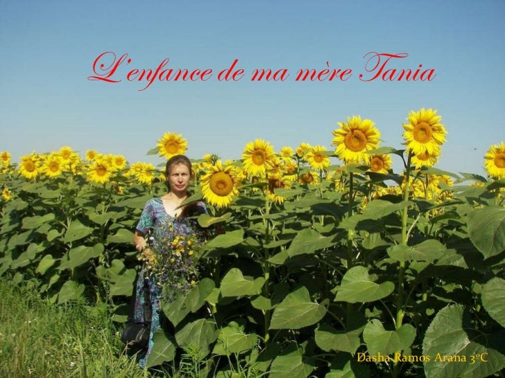 L'enfance de ma mère Tania Dasha Ramos Arana 3ºC