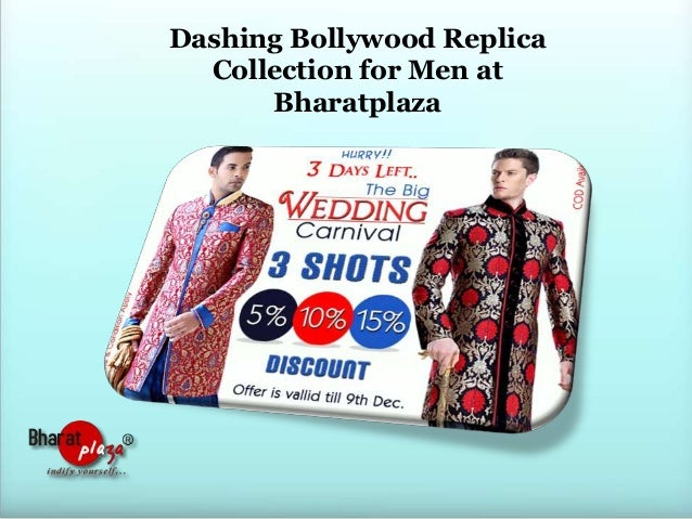 Dashing Bollywood Replica Collection for Men at Bharatplaza