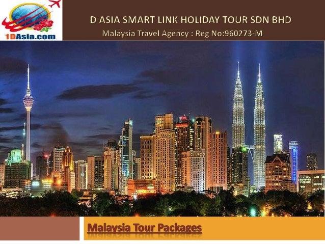 Malaysia sightseeing tour