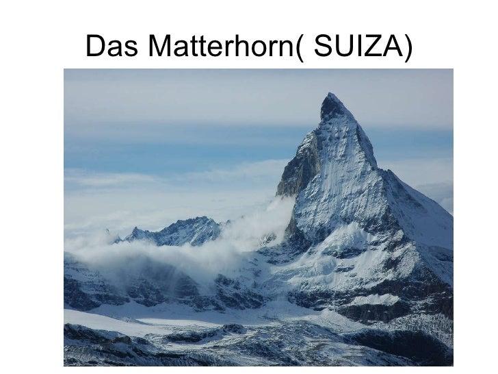 Das Matterhorn( SUIZA)