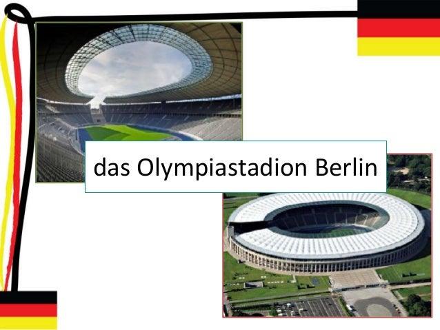 das Olympiastadion Berlin
