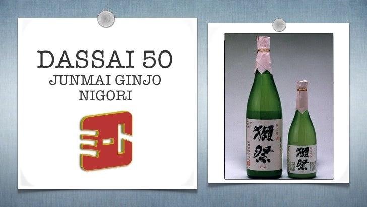 Dassai50 Nigori