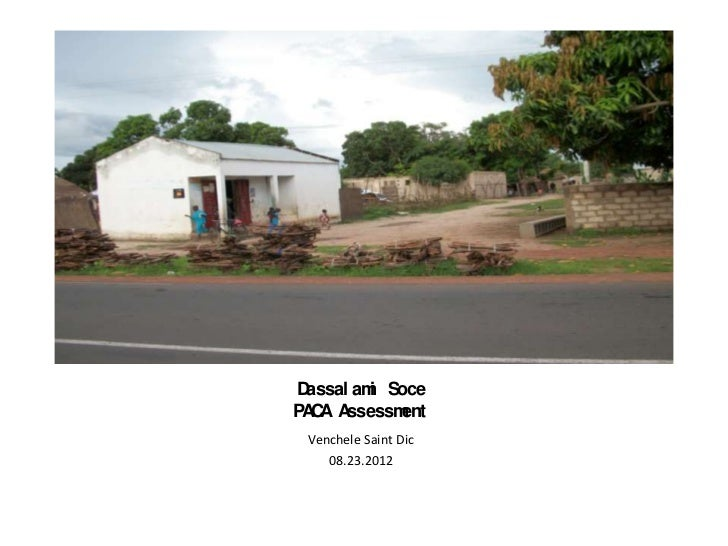 Dassal am Soce         iPA A A  C ssessm  ent Venchele Saint Dic    08.23.2012