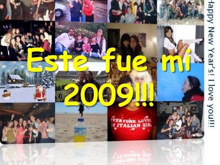 Este fue mi 2009!!!<br />