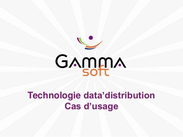 Data distribution-cas-usage