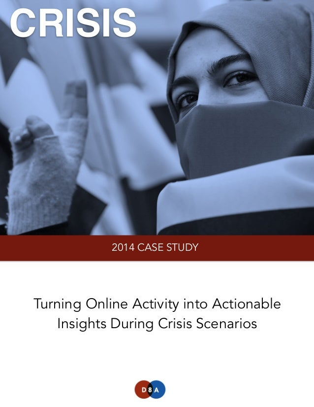 Data-Driven Crisis Monitoring: Turning Online Activity into Actionable Insights During Crisis Scenarios