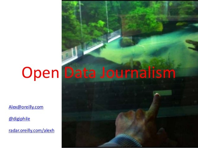 Data journalism Overview