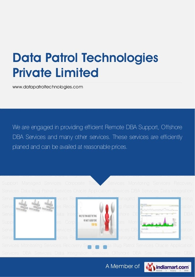 Data Patrol Technologies     Private Limited     www.datapatroltechnologies.comData Bug Patrol Services Oracle Application...