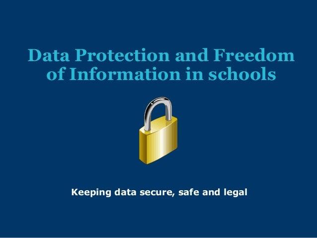 Data protection-training