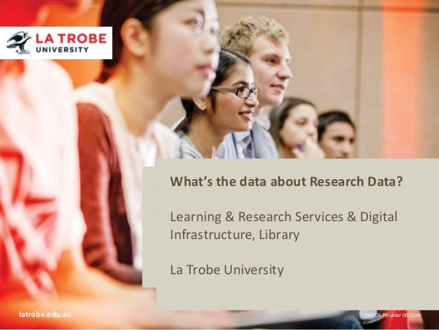 What's the data about Research Data? Title of presentation Name of presenter Title of presenter Research Services & Digita...