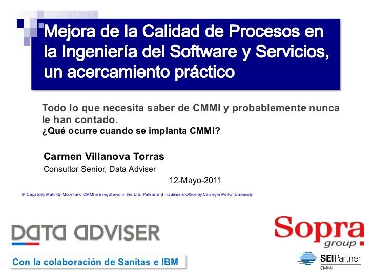 Data Adviser Cmmi
