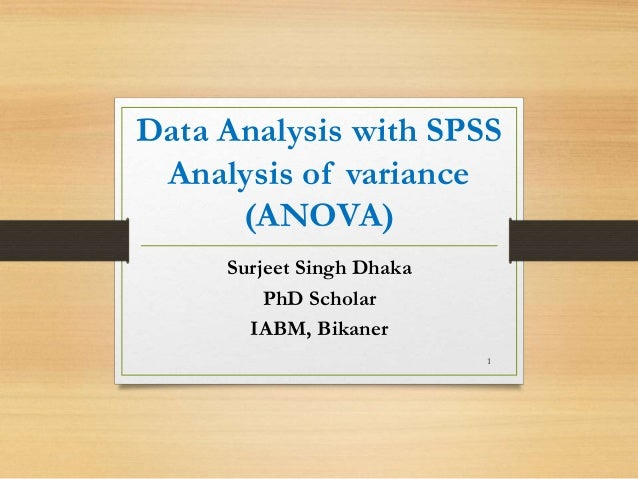 how to analysis spss data Spss tutorials: grouping data  if you choose to split your data using the compare groups option and then run a statistical analysis in spss,.