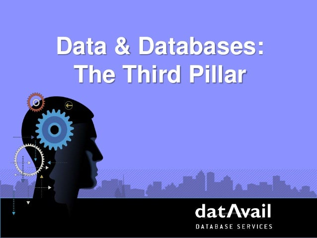 Data & Databases: The Third Pillar