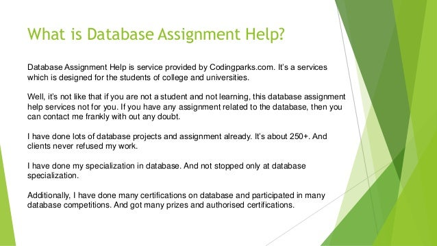 assignment database We offer assignment writing services in many countries and cities around the world.