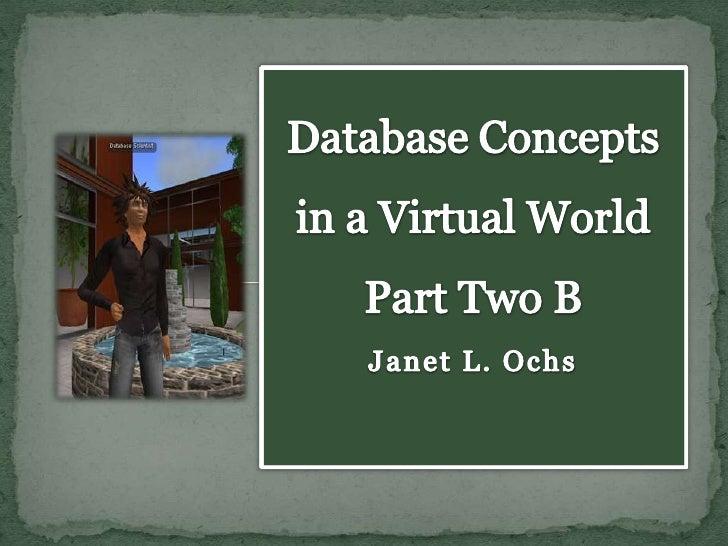 Database concepts part2b