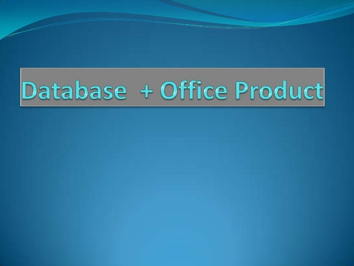 Contents DBMS, Purpose Is Excel a Database??? Microsoft Access…    Joint Engine Technology    Architecture of JET Qu...