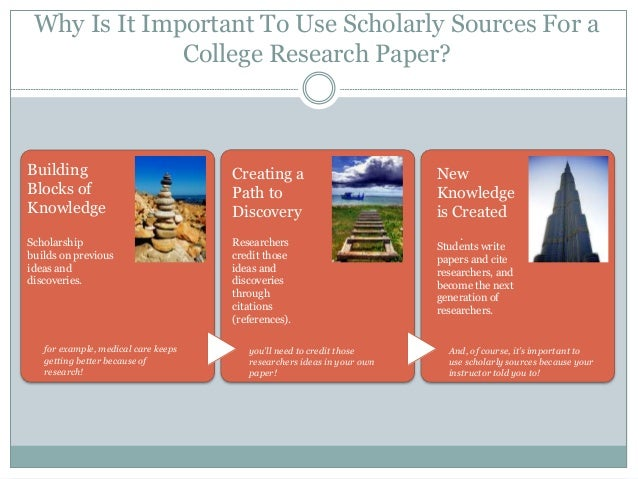 good sources for a research paper What makes a good source are a good place to conduct research because much of the to judging sources, the stronger your papers and.