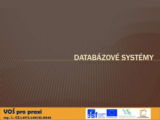 Databazove systemy9