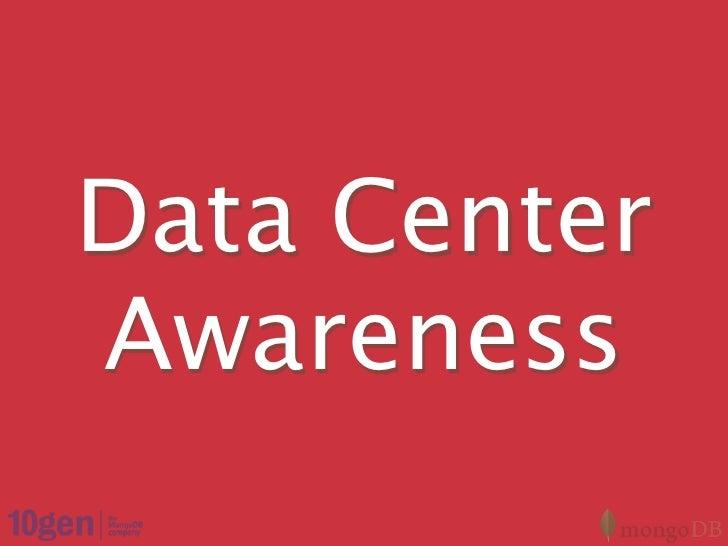 Multi Data Center Strategies