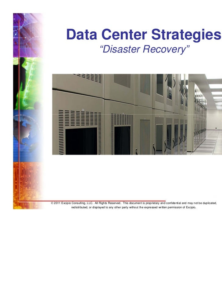 "Data Center Strategies                                    ""Disaster Recovery""                                             ..."