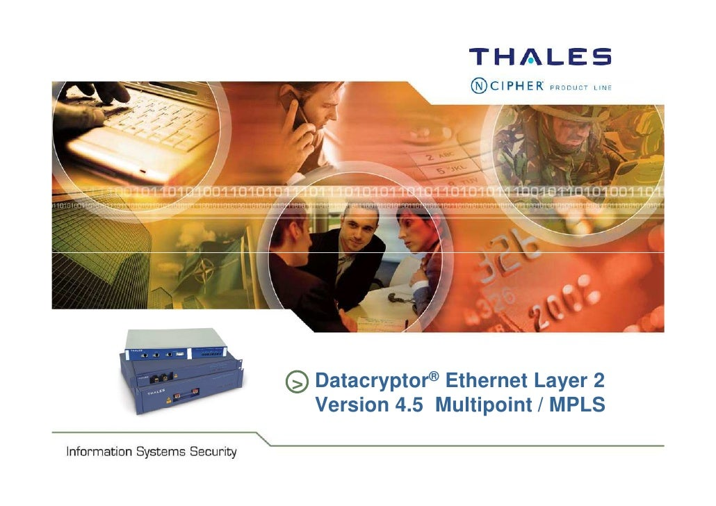 Information Security Systems                               > Datacryptor® Ethernet Layer 2                                ...