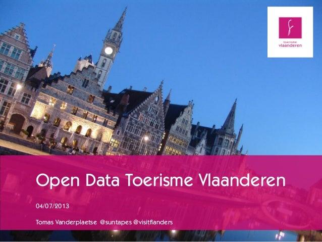 Data dive toerisme_vlaanderen_04_07_2013