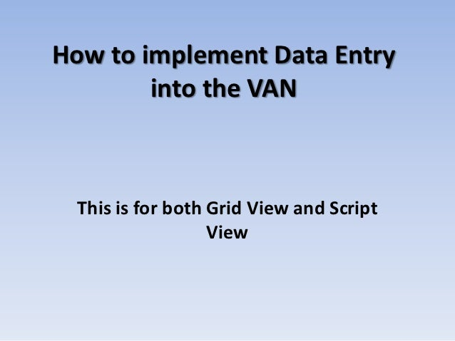 NAACPData entry for van final