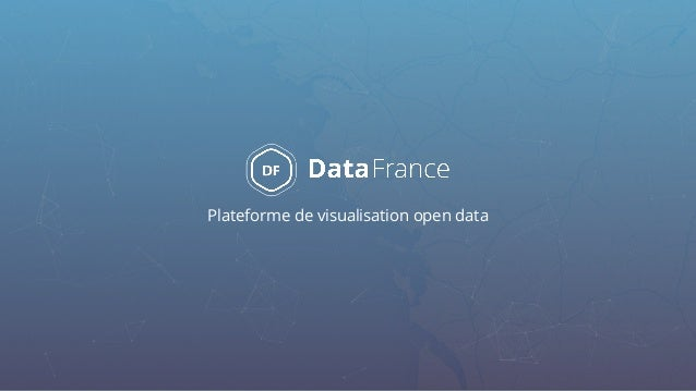 Plateforme de visualisation open data