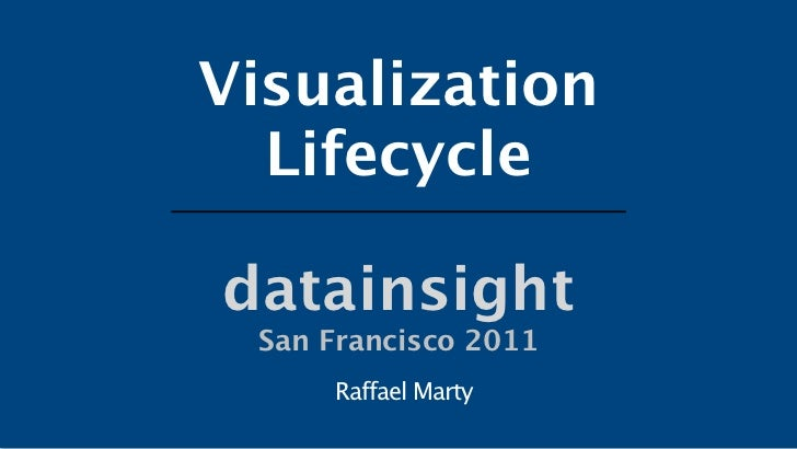 Visualization Lifecycle