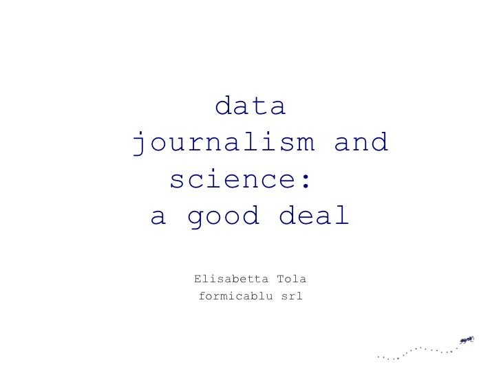 Dataj and science: a good deal