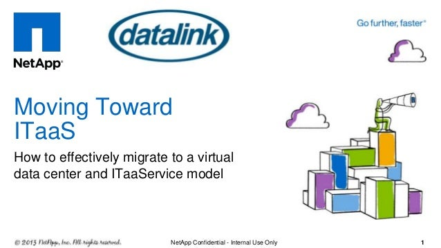 How to effectively migrate to a virtual data center and ITaaService model Moving Toward ITaaS 2NetApp Confidential - Inter...