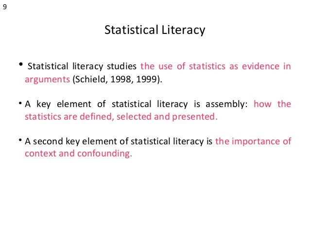 the use of statistics as evidence The office of justice programs (ojp) research statistics, and evaluation, or regularly use this information to support programming evidence integration.