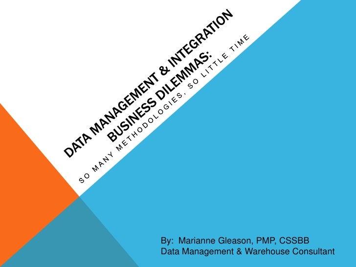 Agile Data Management & Integration
