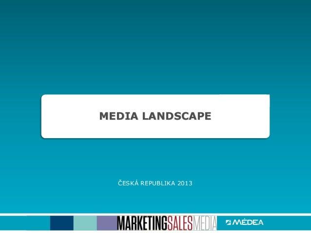 Data o mediálním trhu