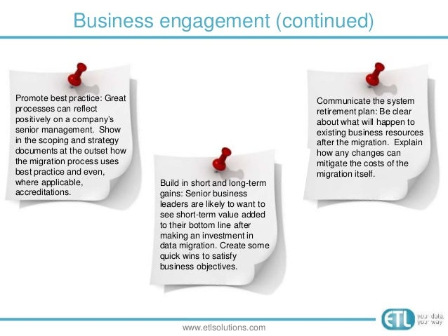 Business engagement plan