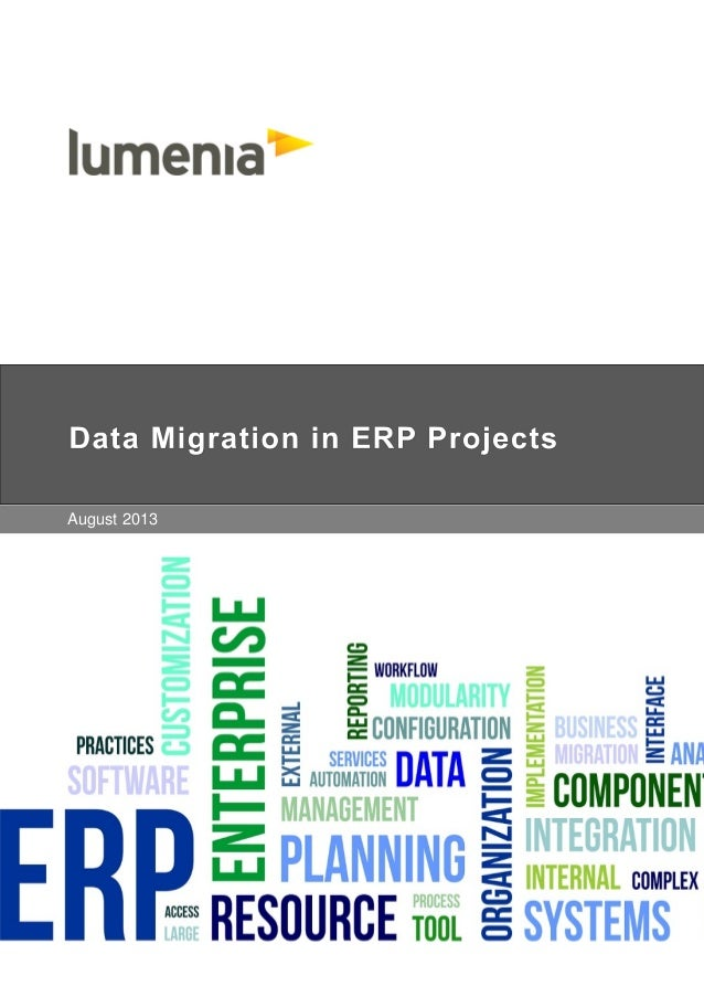 Data Migration in ERP Projects