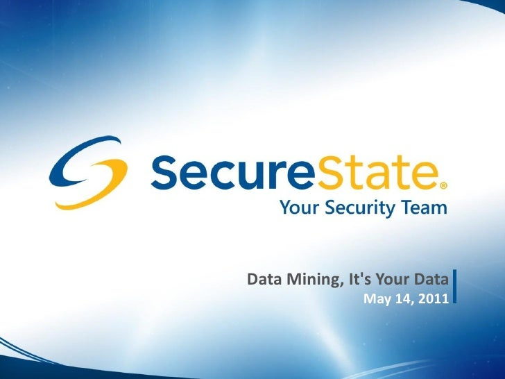 Data Mining - GCPCUG May 2011
