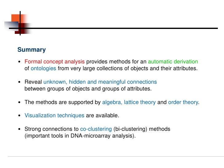 concept analysis