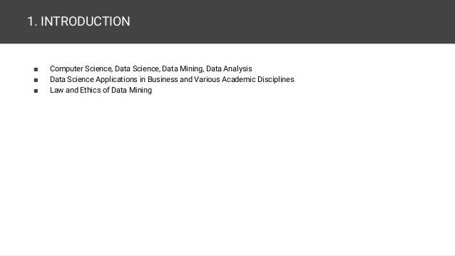Master thesis in computer science in visual data mining