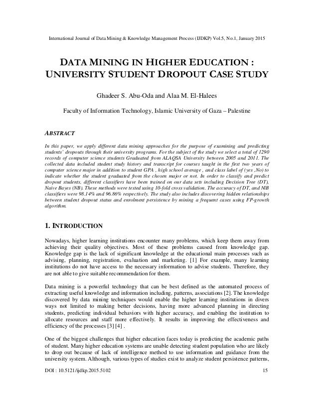 Data Mining Using SAS Enterprise MinerTM: A Case Study